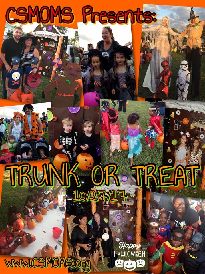 Coral Springs Mothers of Multiples at Trunk or Treat